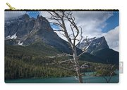 Mountain View At Glacier National Park Carry-all Pouch