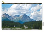 Mountains Along Cassiar Highway In Yt Carry-all Pouch