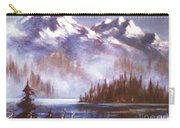 Mountains And Inlet Carry-all Pouch