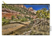 Mountains And Virgin River - Zion Carry-all Pouch