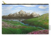 Mountains In Springtime Carry-all Pouch
