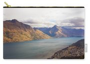 Mountains Meet Lake #5 Carry-all Pouch