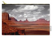 Mountains, West Coast, Monument Valley Carry-all Pouch