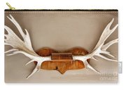 Mounted Elk Antlers Carry-all Pouch
