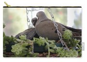 Mourning Dove Feeding Baby Dove Carry-all Pouch