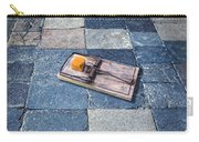 Mouse Trap With Cheese. Carry-all Pouch