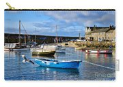 Mousehole Harbour Morning Carry-all Pouch