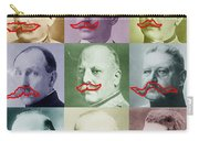 Moustaches Carry-all Pouch by Tony Rubino