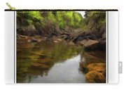 Mouth Of The Brook - Calm - Shallow Water Carry-all Pouch