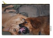 Mouth To Mouth Carry-all Pouch
