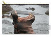 Mouth Wide Open Carry-all Pouch