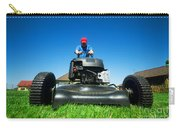 Mowing The Lawn Carry-all Pouch