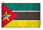 Mozambique Flag Vintage Distressed Finish Carry-all Pouch