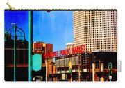 Mpm And Lamp Post Abstract Painting Carry-all Pouch