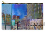 Mpm And Lamp Post Vivid Abstract Carry-all Pouch