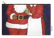 Mr And Mrs Claus Carry-all Pouch