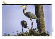 Mr. And Mrs. Heron Carry-all Pouch