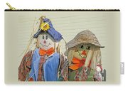 Mr And Mrs Scarecrow Carry-all Pouch