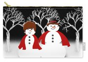 Mr And Mrs Snow 1 Carry-all Pouch