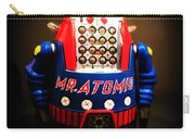 Mr. Atomic Tin Robot Carry-all Pouch by Edward Fielding