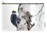 Mr. Black-bscked Woodpecker Carry-all Pouch