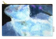 Mr. Blue Bunny Carry-all Pouch