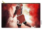 Mr. Michael Jeffrey Jordan Aka Air Jordan Mj Carry-all Pouch
