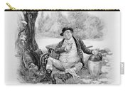 Mr Pickwick, From Charles Dickens A Carry-all Pouch