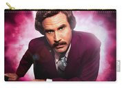Mr. Ron Mr. Ron Burgundy From Anchorman Carry-all Pouch