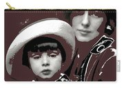 Mrs. Evelyn Nesbit Thaw And Son Arnold Genthe Photo New York 1913-2014 Carry-all Pouch