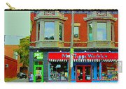 Mrs Tiggy Winkle's Toy Shop And Lost Marbles Richmond Rd The Glebe Paintings Ottawa Scenes C Spandau Carry-all Pouch