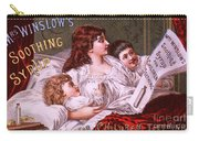 Mrs Winslow's Soothing Syrup Carry-all Pouch