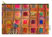 Ms Cool Goes Window Watching In Color Carry-all Pouch