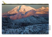 Mt Adams Sunset Carry-all Pouch