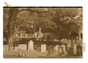 Mt Auburn Cemetery 13 Sepia Carry-all Pouch