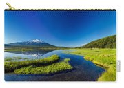 Mt. Bachelor Reflection And Forest Carry-all Pouch