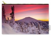 Mt. Bachelor Winter Twilight Carry-all Pouch