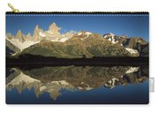 Mt Fitzroy At Dawn Patagonia Carry-all Pouch