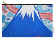 Mt. Fuji And A Red Dragon Carry-all Pouch