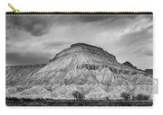 Mt. Garfield - Black And White Carry-all Pouch