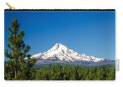 Mt. Hood And Pine Trees Carry-all Pouch