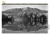 Mt Katahdin Black And White Carry-all Pouch