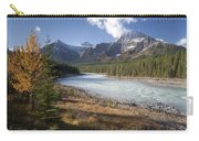 Mt Kerkeslin And Athabaska River Jasper Carry-all Pouch
