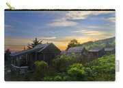 Mt Leconte Before Dawn Carry-all Pouch by Debra and Dave Vanderlaan
