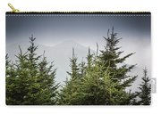 Mt. Mitchell In Fog Carry-all Pouch
