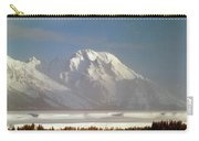 1m9202-mt. Moran, Tetons, Wy Carry-all Pouch