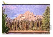 Mt Moran From Colter Bay Carry-all Pouch