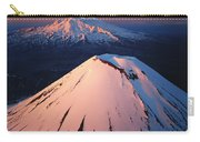 Mt Ngauruhoe And Mt Ruapehu Carry-all Pouch