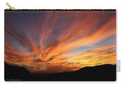 Mt Ord Sunset Arizona Carry-all Pouch