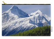 1m3627-mt. Outram And Mt. Forbes Carry-all Pouch